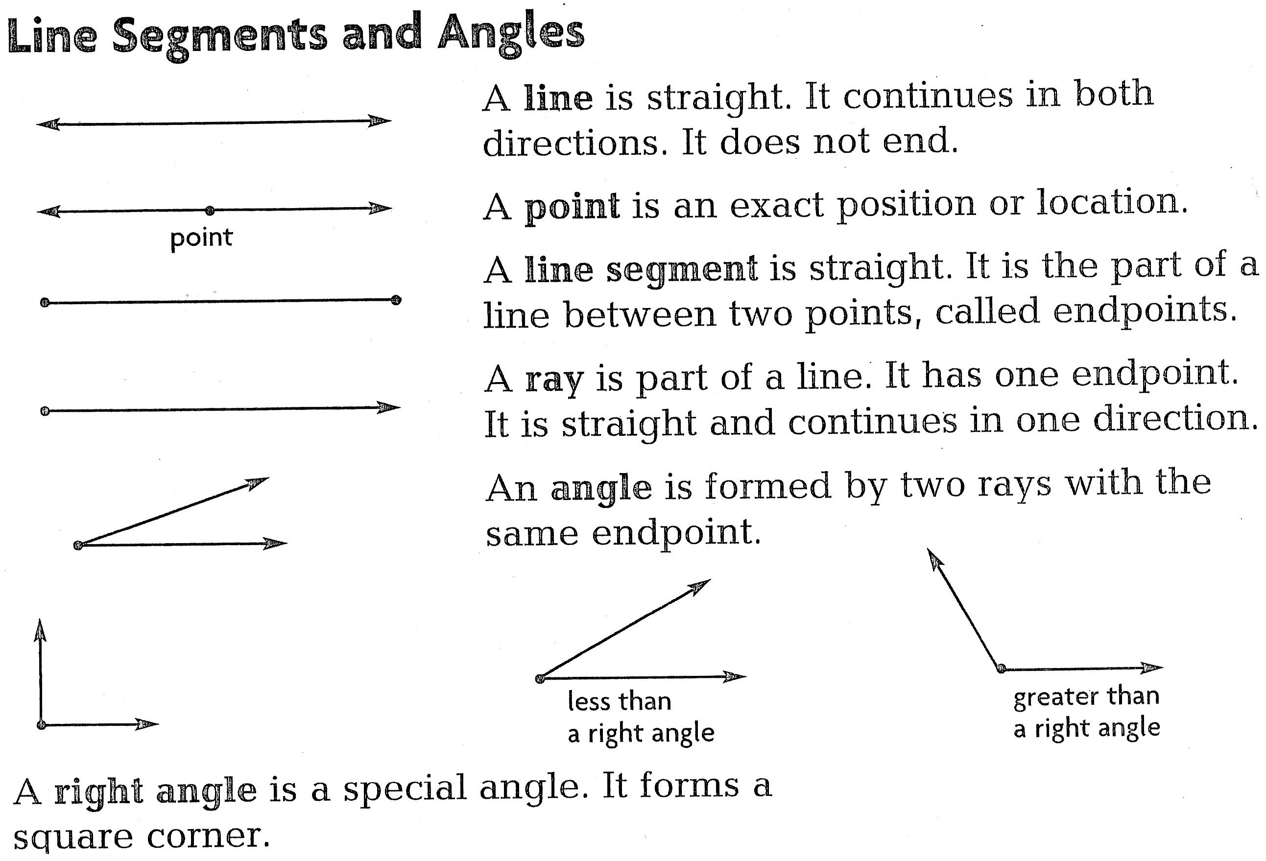 Line Ray Line Segment Worksheet Free Worksheets Library – Lines Rays and Angles Worksheets
